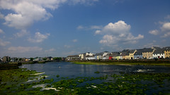 Low Tide (mcginley2012) Tags: galway ireland river pier street terrace colour light urban city cameraphone lumia1020 cloud sky