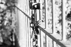 IMG_2018_05_13_03819 (gravalosantonio) Tags: jaca huesca cancela puerta huerta bin blancoynegro