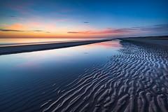 Zen Beach! (karindebruin) Tags: colors kleuren maasvlakte nederland thenetherlands zonsondergang zuidholland beach clouds industrialarea industriegebied reflectie reflection strand structures sunset water wolken