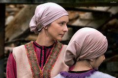 the sisters (dim.pagiantzas | photography) Tags: sister women female faces portrait actress movies cine cinematic cinema traditional history historical revolution greece greek exodus amorsa canon colors