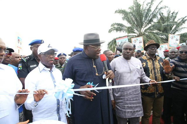 HSDickson- Commissions Projects In Delta State. 5th June 2018