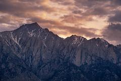 Lone Pine Peak Sunset (RyanLunaPhotography) Tags: alabamahills easternsierra fuji fujifilm sierranevada socal southerncalifornia whitney xt2 landscape night sunset