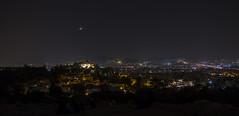 Athens by night (davidemauro) Tags: atene athens luna