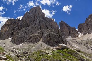Il Rif. Vicenza e la Punta Dantersass