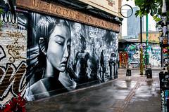 London street art (Chris D Page) Tags: london street art colour city shoreditch painting