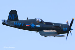 F-AZEG Chance-Vought F4U-4 Corsair (Planes , ships and trains!) Tags: vought f4u4 corsair fazeg chance chancevought marine navy warbird airplane aircraft planespotting plane lafertéalais propellor blue bluesky speed metal airshow airshows france vc3 pilot fighterpilot ww2 wwii