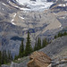 Glaciar de circo y morrena frontal o terminal - Emerald Glacier, Yoho National Park, Canadá - 01