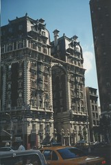New York City - New York - Manhattan - Upper West Side - The Dorilton 171 West 71st Street (Onasill ~ Bill Badzo - 54M View - Thank You) Tags: the dorilton 171 west 71st street luxury apartments building onasill design leo opulent beuax arts limestone nrhp landmark nyc manhattan newyork ny upper side balconies courtyard sculpture copper mansard roof balustrated exterior old vintage photo architecture style historian historic french inspired iron gate palaces