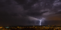 Thunderstorm Vodice/ Croatia (rockheadz) Tags: thunder lightning thunderstorm sky clouds gewitter blitz himmel wolken landschaft landscape sonyflickraward