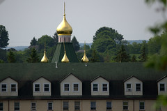 Gold Domes at Holy Trinity Seminary and Monastery (rochpaul5) Tags: gold dome monastery russian orthodox christian seminary mohawk ny new york