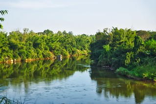 River Kwae Noi passing Prasat Muang Singh, Kanchanaburi, Thailand
