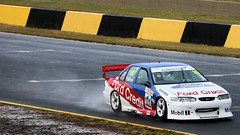 FORD Powerspray (2/3) (Jungle Jack Movements (ferroequinologist)) Tags: ford falcon wet spray eastern creek sydney motorsport park smsp new south wales nsw kumho v8 racing supercars van gisbergen steven john stone brothers dick glenn seton neil crompton jason foley nathan cantrell brad neill credit jim beam sp motor pass race speed car cars hottie track practice pole position times timing hard competition competitive event sports racer driver engine build fast grid circuit drive helmet number