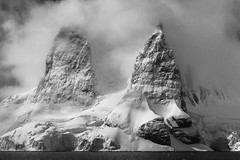 peaks and towers of antarctica (thomas.reissnecker) Tags: bw blackandwhite msexpedition mountains antarctica landscape ngc
