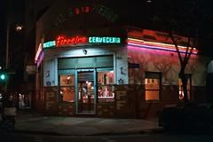 (zinaconzeta) Tags: film 3 5 35mm filmphotography 35mmfilm luces lights city neonlights buenosaires glass neon fuji fujifilm yashica analogue