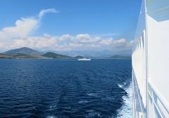 149 | Corfu → Igoumenitsa car ferry (Mark & Naomi Iliff) Tags: mv elyros ελυροσ anek ανεκ aboard afloat ferry ship atsea adriatic mediterranean corfu κέρκυρα igoumenitsa ηγουμενίτσα carferry clouds sea