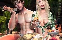 📷    ʷ ᵉ ᵗ   ᵇ ʸ     ᵗ ʰ ᵉ   ˢ ᵉ  ᵃ. (ℒزdsα) Tags: minahair osmia chicchica jian beach wet couple love sand arcade thearcade fameshed leopardgeko gacha palm summer itdoll doll girl cute woman lotd fashion game gamer gamergirl gamedoll avatar sl secondlife slavatar slfashion free freebie mesh pixel virtual virtualworld beauty beautiful photo photograph snapshot clothing clothes picture blog blogger slblogger secondlifeblogger moda event