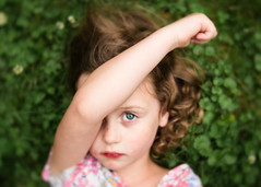 Cherry popsicle face (trois petits oiseaux) Tags: kids childhood portrait lensbaby velvet56
