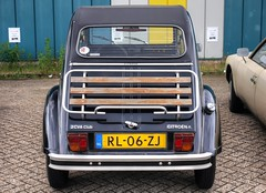 Citroën 2CV 6 Club (Skylark92) Tags: nederland netherlands holland noordholland northholland wormer 2cv eendengarage sander aalderink windshield road car citroënforum voorjaarsmeeting 2018 citroën 6 club rl06zj 1987 s6