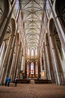 (9/365) Vault of St Mary's Church, Lübeck