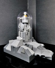 The Bottle City of Kandor (LegoKlyph) Tags: lego brick block mini figure superman dc comics build bottle city kandor krypton brainiac
