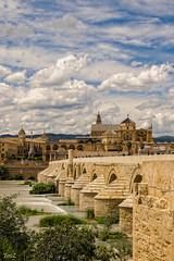 La Mezquita de Cordoue et le pont romain depuis la tour de la Calahorra ! (thierrymazel) Tags: cordoue cordoba mezquita cathedrale pont romain andalousie calahorra espagne