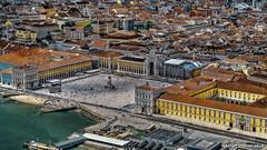 Lisbon, Portugal: Praça do Comércio (nabobswims) Tags: aerialphotography hdr highdynamicrange ilce6000 lightroom lisboa lisbon nabob nabobswims pt photomatix portugal praçadocomércio sel18105g sonya6000