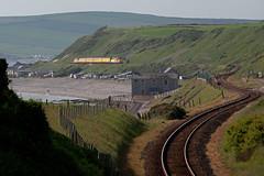 Plain Line? (Richie B.) Tags: 1q47 nethertown cumbria colas rail network english electric british class 37 37421 37521