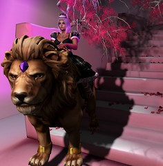 lionqueen (BellaParx) Tags: secondlife secondlifephotography violentseduction sweetthing breathe alchemy laq maitreya gacha limerence