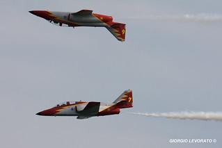 Águila 6 e 7, Patrulla Águila, Ejército del Aire