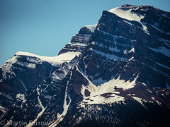_5238080 (Hyperfocalist) Tags: canada alberta spring rocky mountains bow lake mountain snow glacier rock