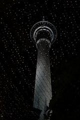 Beyond the stars (Gunn Shots.) Tags: skytower auckland newzealand citylights afterdark nighttime tower