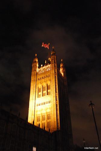 Парламент і Біг Бен Лондон вночі InterNetri United Kingdom 0457