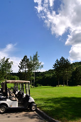 Golf (studio SW) Tags: golf longwy ciel gazon vert bleu green blue