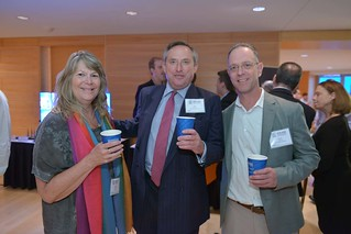 Audrey Ruelas, Guy Hadland And Bruce Jacobson