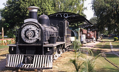 Preserved for posterity at the Indian Railways National Railway Museum in Delhi (mikul44171) Tags: steam preserved museum cowcatcher