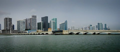 Venetian Islands Bridge over Biscayne Bay - Miami FL (mbell1975) Tags: miami florida unitedstates us venetian islands bridge over biscayne bay fl fla water inlet river ocean atlantic bro brücke puente pont ponte brug bouwwerk most brig köprü bur broen