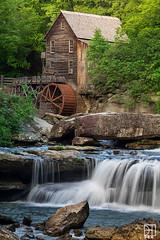 Glade Creek Grist Mill, West Virginia (Del.Higgins) Tags: glade creek grist mill west virginia waterfalls oak hill wv spring bloom summer river babcock state park