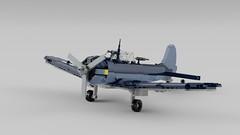 SBD3 Dauntless 2 (C.Ngoc) Tags: ww2 lego aircraft sbd3 dauntless ldd war