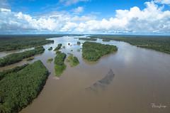 KAP on the Napo River, Ecuador (Pierre Lesage) Tags: pierrelesage kapstock kap kiteaerialphotography autokap delta r11 danleigh ecuador manateecruiseexplorer rionapo amazonia slackline jungle rainforest wwkapweek