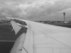 Just before take off at El Dorado Bogota, Columbia (fuzzballmaster) Tags: bogota columbia london heathrow avianca window flight
