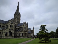 Salisbury (ancientlives) Tags: cathedral church christian england anglican uk europe clouds spire tower bells religion tuesday june 2018 spring walking trips history salisbury salisburycathedral wiltshire