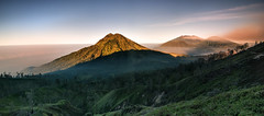 Mount Raung morning light (©Helminadia Ranford) Tags: mountraung eastjava volcano indonesia nature travel landscape
