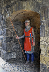 On Guard (syf22) Tags: northernireland causewaycoastway carrickfergus castle wall ancient old medieval guard stronghold fortress middleage fort