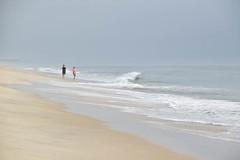 On The Beach (meg21210) Tags: beach sea ocean people nc northcarolina obx outerbanks atlantic waves pier wave kittyhawk morning