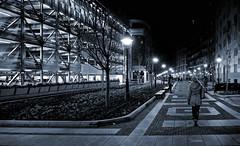 belgrade night (poludziber1) Tags: beograd belgrade serbia srbija street night people blackandwhite urban travel