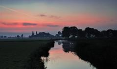 Vockestaert (ulbespaans) Tags: middendelfland zonsopkomst landschap landschapsfotografie sky sunset landscape landscapephotography canon6d canonphotography athabascafilter