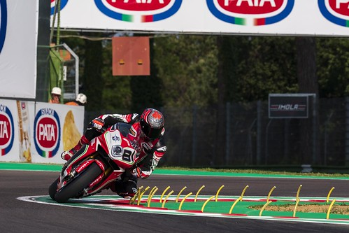"""WSBK Imola 2018 • <a style=""""font-size:0.8em;"""" href=""""http://www.flickr.com/photos/144994865@N06/28494658828/"""" target=""""_blank"""">View on Flickr</a>"""