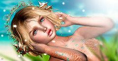 Tunes of Sea (meriluu17) Tags: astralia monso enfersombre mermaid tune sound emotion sea ocean sun people portrait