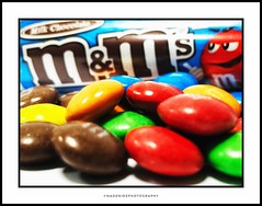 """M&M's """"Melts in your mouth, not in your hand"""" (NadzNidzPhotography) Tags: nadznidzphotography macromondays candy chocolate mm food foodphotography foodie foods red blue yellow productphotography product"""