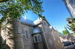La rue des Ursulines (www.sophiethibault.ca) Tags: 2018 hdr ursulines écoledesursulines bâtiments rue église patrimoine histoire canada québec architecture mai bâtiment